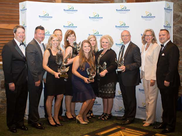 the entire hospitality industry of Gatlinburg, Pigeon Forge and Sevier County as the Tourism Professionals of the Year