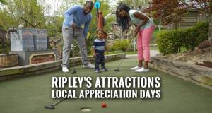 Ripley's Local Appreciation for Sevier, Cocke, Jefferson, Knox and Blount Residents