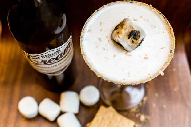 Pour S'more Cream Liqueur Cocktail Recipe