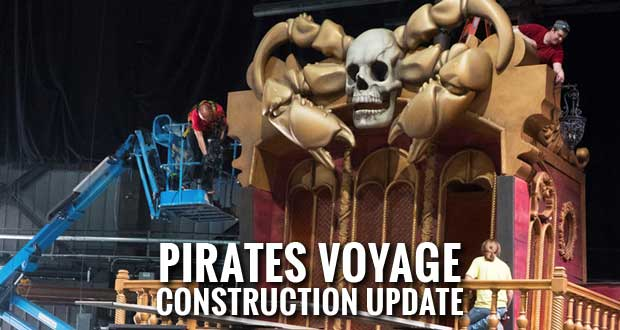 New Pirates Voyage Dinner & Show Looking Ship Shape in