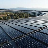 Fonti rinnovabili: la Apple si alimenta al 100% con energia pulita