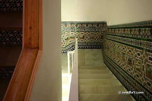 Wall Tiles Relator | Stairs Wall Tiles Design | Main Entrance Wall Tile | Exterior | Two Story House Stair | Wall Flat | Residential