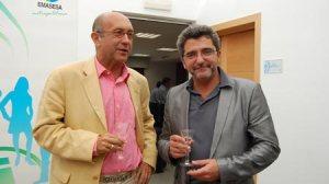 Gutiérrez Limones durante su visita a la nueva oficina de Emasesa