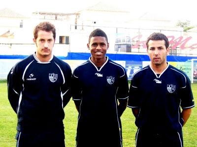 Mustafá, joni y Jairo se enfrentarán este fin de semana a su ex equipo, el Coria FC