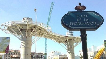 La reurbanización del entorno de la Plaza de la Encarnación comenzó en junio de 2009/ www.plataformaarquitectura.cl