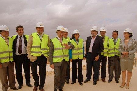 A la visita acudieron también Rosa Aguilar y el Delegado de Gobierno en Andalucía, Juan José López Garzón, entre otros