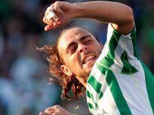Sergio García adelantó al Betis tras un pase de Capi y recortar al guardameta Jorquera