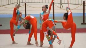 La gimnasia rítmica lucirá el sábado en Dos Hermanas en todas sus categorías