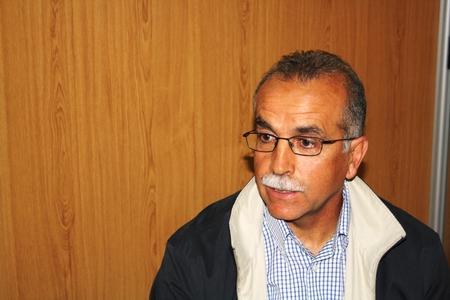 Antonio Tapia, entrenador del Betis durante la entrevista/Paco Cordero