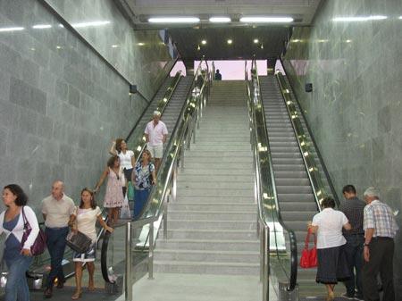 El metro reforzará el número de trenes de 13:00 a 21:00 horas hasta el cinco de enero