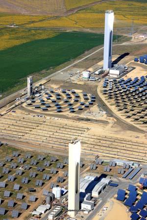 Los ministros europeos de Medio Ambiente visitarán la planta termo solar de Sanlúcar la Mayor