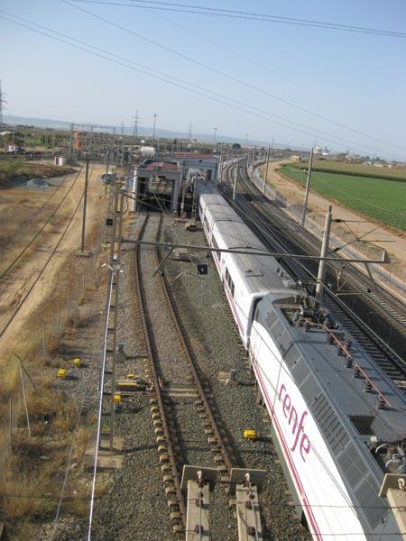 El Centro de Montaje se encargará del mantenimiento del tramo de Alta Velocidad entre Sevilla y Antequera, correspondiente a la Junta