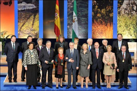 La Junta ha reconocido a una veintena de personas y entidades de Andalucía