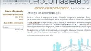 La web cerocomasiete ofrece información actualizada de los proyectos subvencionados