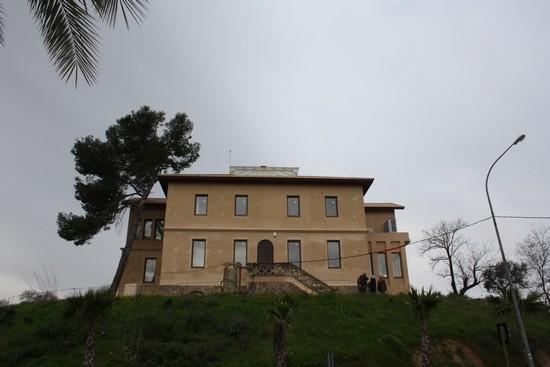 Exterior de la Casa de Minas de Cala