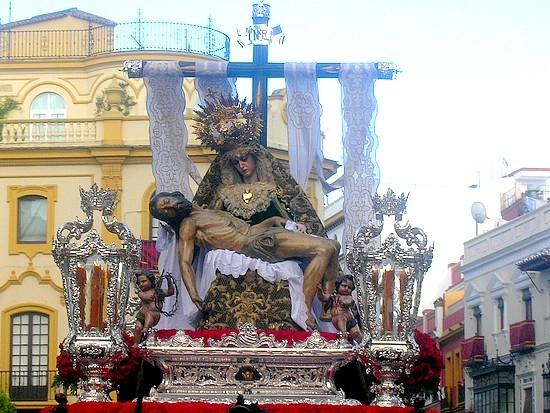 La talla del Stmo. Cristo de la Providencia antes de su restauración/Daniel Valencia