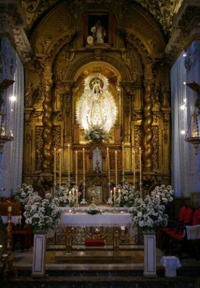 Altar Mayor de la Santa María la Blanca/M.J. Rodríguez Rechi
