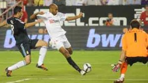 El Sevilla ganó al Real Madrid en la primera vuelta (2-1)/SevillaFC