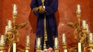 La talla de Nuestro Padre Jesús del Soberano Poder de Alcalá de Guadaíra durante la celebración del triduo / Daniel Valencia
