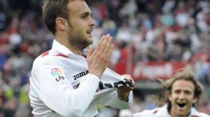 Tres partidos seguidos lleva marcando Cala, el último frente al Sporting/SevillaFC