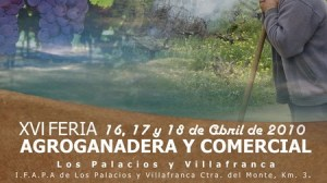 Cartel de la XVI edición de la Feria Agroganadera de Los Palacios y Villafranca./SA