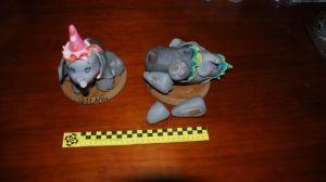 La droga viajaba dentro de unas figuras decorativas en un paquete postal/GuardiaCivil.