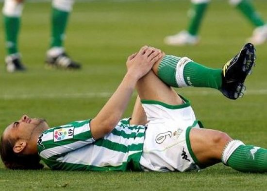 Sergio García se lesionó el pasado domingo ante el Celta/realbetis