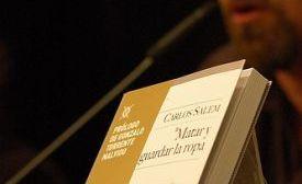 El argentino Carlos Salem sorprendió con sus poemas de sexo y amor