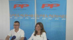 Javier Jiménez y Alicia Martínez se han reunido con otros concejales para hablar de las medidas de Zapatero/PPAlcala.