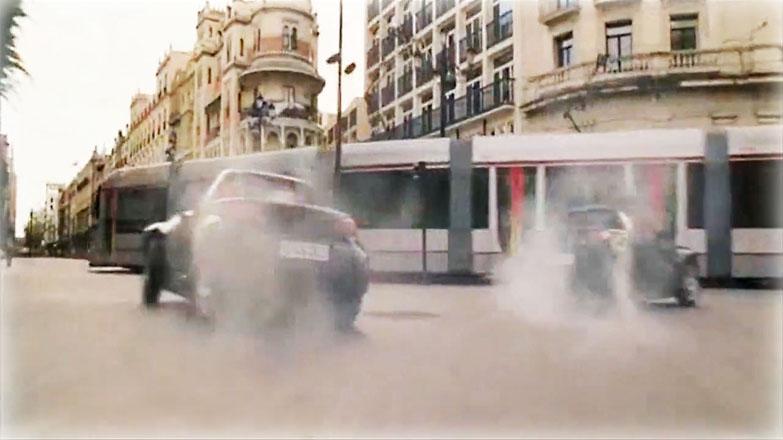Instante de la película con el metrocentro como protagonista, en el centro de Sevilla/SA