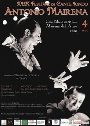 El Festival Antonio Mairena nos recordará el centenario del Nacimiento del cantaor de Mairena del Alcor. /SA
