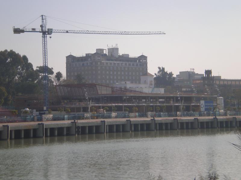 Las obras llevan meses paralizadas tras los problemas económicos de la empresa Acuario Nuevo Mundo/SA