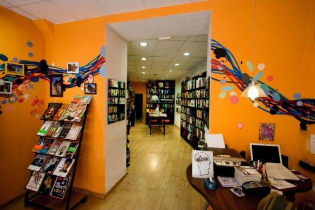 Librería 'La Araña' en Sevilla/laraña.com