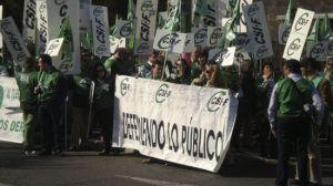 Los empleados públicos han protagonizado distintas manifestaciones en los últimos días, como ésta del 11 de noviembre