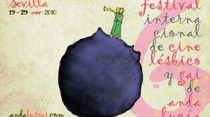 Cartel del Festival de cine internacional lésbico y gay