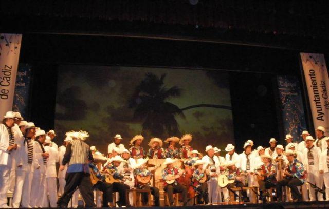 El coro de Sevilla fue el año pasado 'El Cantinero de Cuba'/Ángel Espínola