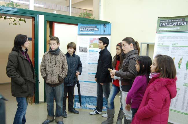 La exposición busca la concienciación ciudadana con Palestina