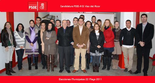 El Partido Socialista de El Viso ha sido el primero en publicar sus listas electorales para las elecciones/PsoeViso.