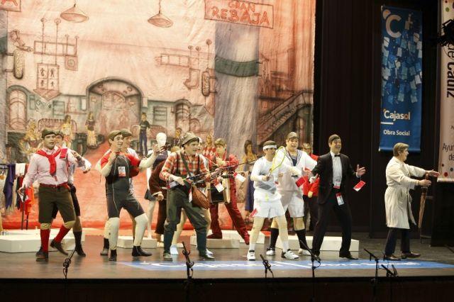 La chirigota de Sevilla lleva varios años accediendo hasta las semifinales del concurso gaditano/chirigotadesevilla.com