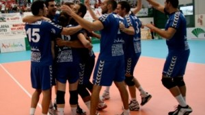 Cajasol Juvasa celebrando la victoria en la copa Andalucía. Sevilla Actualidad