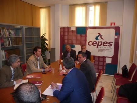 Según ha señalado Torrijos, Izquierda Unida es la fuerza política que más ha contribuido, hasta ahora, a colocar a la Economía Social en la agenda local de la ciudad./Prensa IU