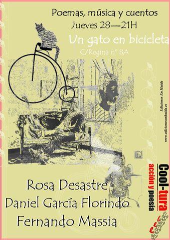 La actividad, presentada por el poeta y coeditor de Ediciones en Huída (EEH), Martín Lucía, es una simbiosis e interacción creativa de la palabra en diversas vertientes orales.