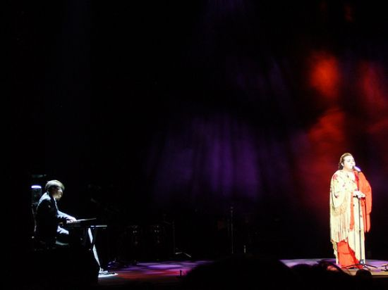 falete inaugurará su nuevo espectáculo en el Teatro Quintero. / Iker Merodio