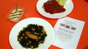 Espinacas, Bacalao, Torrijas o Arroz con leche componen el menú cofrade del Hospital de Valme