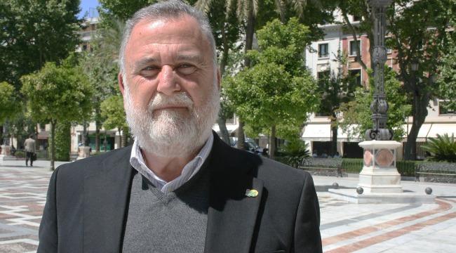 Antonio Rodrigo Torrijos repasa su programa electoral en Sevilla Actualidad/Christopher Rivas