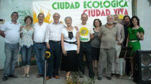 Los Verdes en un acto en Pino Montano