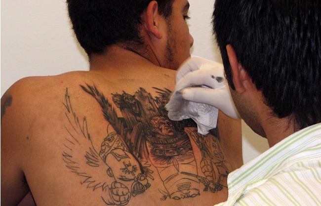 El modelo matemático puede predecir cómo será el tatuaje dentro de unos pocos años/JPBlasfemia en Flickr