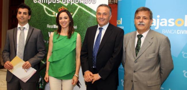 El viceconsejero del Real Betis, esta mañana/Imagen: www.realbetisbalompie.es