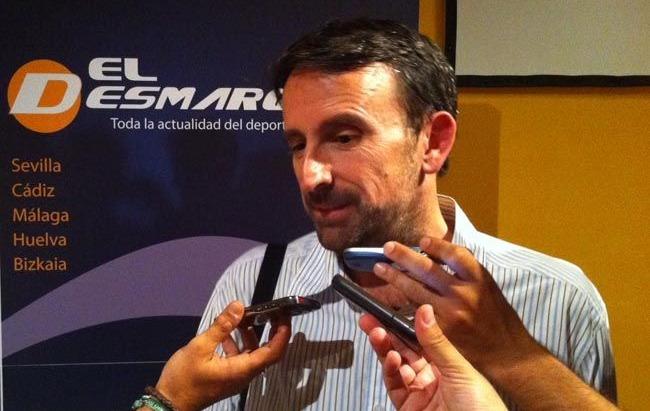 Joan Plaza ha estado hoy en la gala de El Desmarque/www.baloncestosevilla.com