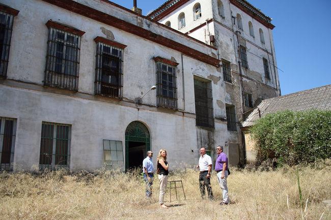 Vista de la Hacienda Santa Cruz de La Rinconada
